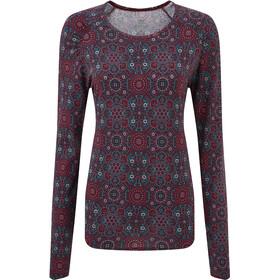 Sherpa Meera T-shirt zippé Femme, ani print